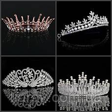 Крепление диадемы тиары или короны к волосам