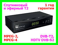 DVB-S2/T2 тюнер Galaxy Innovations GI HD Slim Combo, фото 1