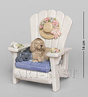 Статуэтка Собаки Одни дома (Pavone) CMS-15/86. Символ 2018 года