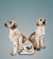 Статуэтка керамическая (Fengxi) Пара собак FF-46. Символ 2018 года