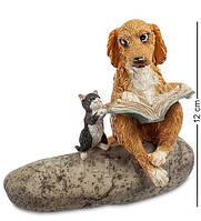 "Статуэтка ""Собака с кошкой"" ED-253. Символ 2018 года"