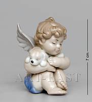 Статуэтка Ангелочек с собачкой (Pavone) JP-35/5. Символ 2018 года