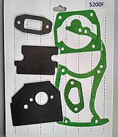 Набор прокладок бензопилы 4500 / 5200 ( полный )