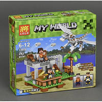 Конструктор Lele Minecraft (293 деталей) серии My World 33025