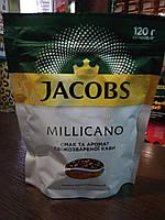 Кофе Якобс Монарх Милликано растворимый с молотым 120г мягкая упаковка