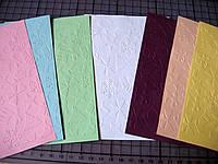 Тиснение на картоне, бумаге. Новогодние