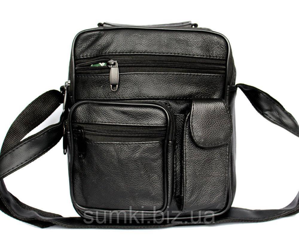Кожаные мужские сумочки через плечо - Интернет магазин сумок