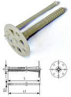 Пластиковое крепление для теплоизоляции с пластиковым гвоздём IZO 10*110