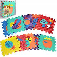 Коврик-мозаика для деток , разные виды фрукты и овощи