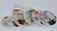 Подставка под стакан, костер 10-12-5 см, подставка под чашки и бокалы