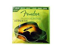 Струны фосфорная бронза Fender