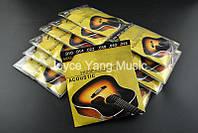 Струны для акустической гитары фосфорная бронза Fender