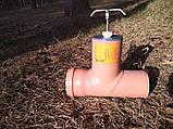 Шиберная задвижка д 110мм (канализационная), фото 2