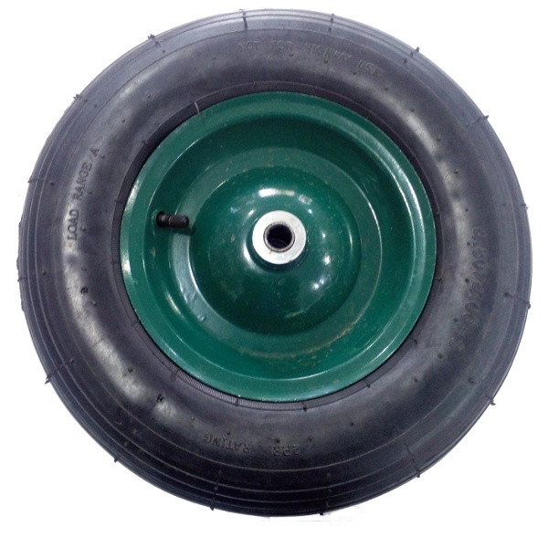 Колесо пневматическое 4.00-8 на тачку строительную Limex (оригинал)