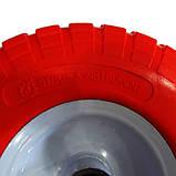 Ненадувное колесо 3.50-4 для тачки, пена (Стройка), фото 3