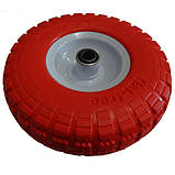 Ненадувное колесо 3.50-4 для тачки, пена (Стройка), фото 2