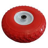Ненадувное колесо 4.00-4 для тачки, пена (Стройка), фото 2