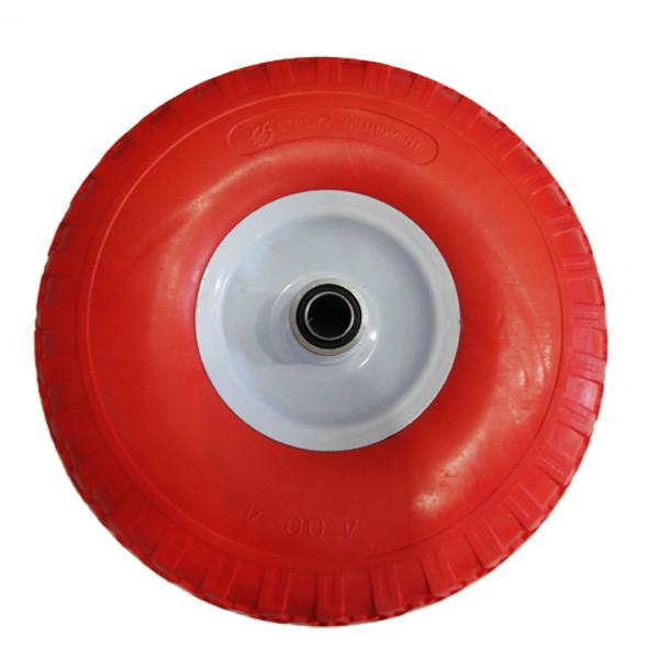 Ненадувное колесо 4.00-4 для тачки, пена (Стройка)