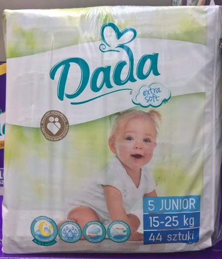 Подгузники детские DADA Junior 15-25 кг 44шт в наличии есть все размеры. d73e4cb371d