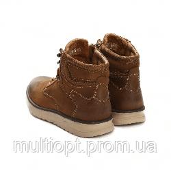 Ботинки мужские кожаные 41-46 коричневые