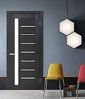 Двери межкомнатные со стеклом Cortex Deco 09 дуб wenge