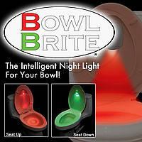 Підсвічування для унітазу з датчиком руху Bowl Brite