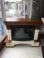 Камин электрический Krolewski Ogien Cegla+P33