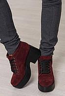 Женские демисезонные ботинки ТМ Bona Mente (разные цвета) 38, черный лак