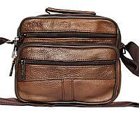 Кожаные коричневые сумки через плечо, Распродажа, фото 1