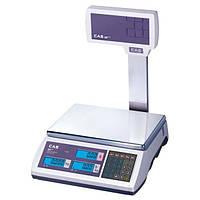 Электронные весы торговые CAS ER-Plus EU