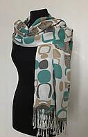 Качественный шарф с бирюзой