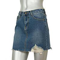 Короткая джинсовая юбка J@T, фото 1