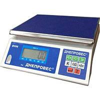 Весы фасовочные Днепровес ВТД-ФЛ (Ф998-6Л) на 6 кг.