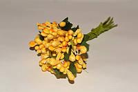Тычинки цветочек. цв.Желтый
