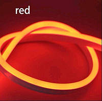 "Светодиодная лента 12В ""Dream light"" гибкий неон IP68 красная"