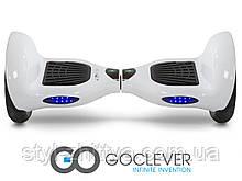 Гіроборд S10 CITY BOARD GOCLEVER + сумка білий