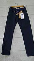Подростковые теплые котоновые брюки для мальчиков ,черные и синие,школа