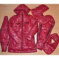 Зимняя куртка 3 в 1 красная размер М. Бесплатная доставка по Украине!