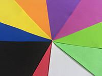 Фоамиран микс цветов 40 см * 60 см, толщина 1 мм (5 листов)