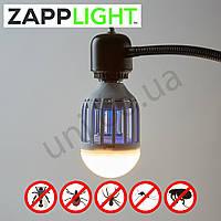 ZappLight уничтожает комаров - лампа и уничтожитель насекомых 2 в 1