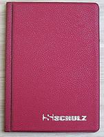 Альбом на 48 монет SCHULZ красный