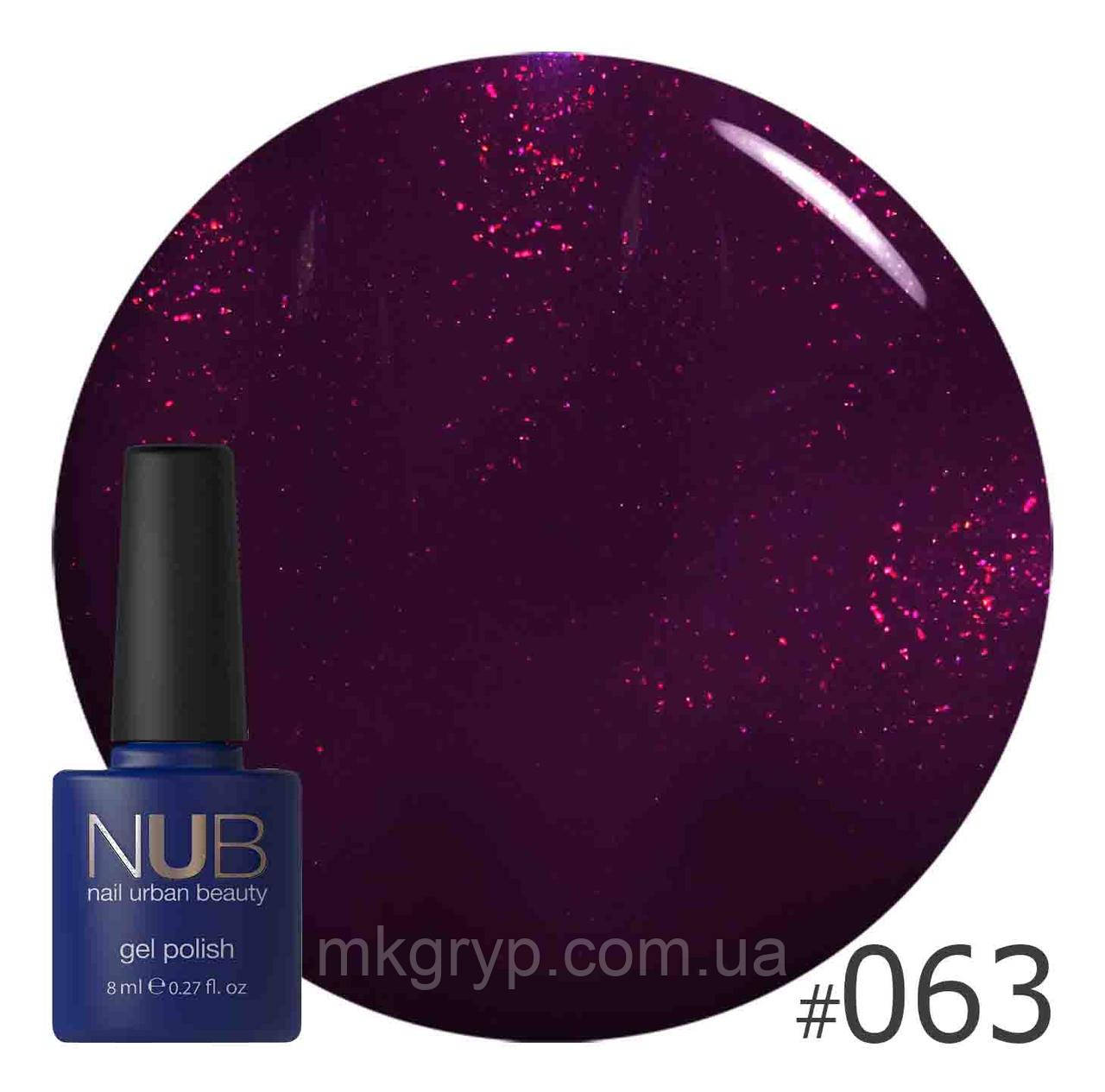 ГЕЛЬ-ЛАК NUB REBEL HEART 063