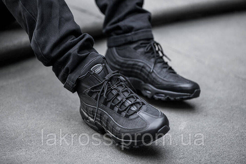 Кроссовки Nike Air Max 95 Triple Black РАСПРОДАЖА 36,37,38 Р! — в ... 90c01a372a7