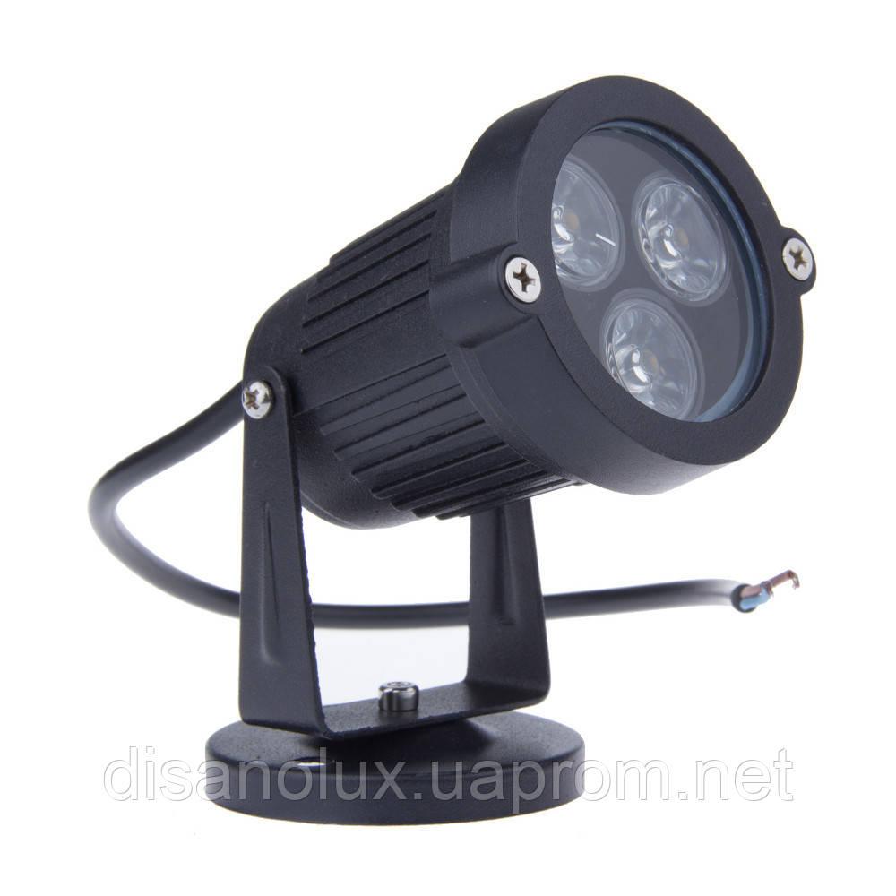 Светильник ландшафтный  OL-07  Base  LED 3W /4100К  230V черный IP65