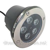 Светильник грунтовый LM-987 LED 5W  230V размер  100мм*90мм  6500К IP65, фото 2