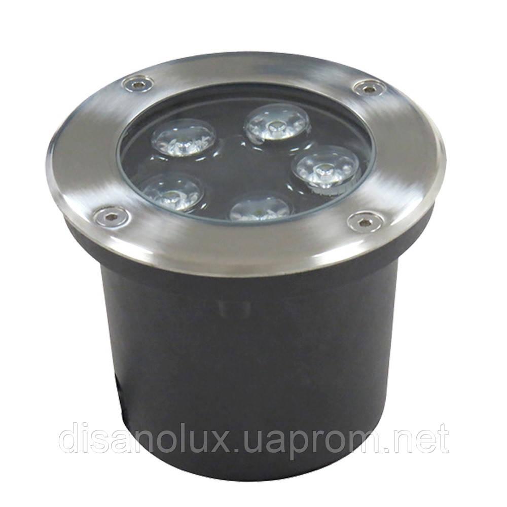 Светильник грунтовый LM-987 LED 5W  230V размер  100мм*90мм  6500К IP65