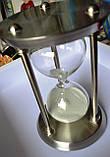 Пісочний годинник на 30 хвилин з нержавіючої сталі, фото 3