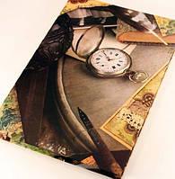 Книга канцелярская 200л (клетка, офсетная) твердая обложка Септима