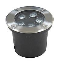 Светильник грунтовый GR-01 LED 5W 230V размер 120мм*90мм  3000K IP67