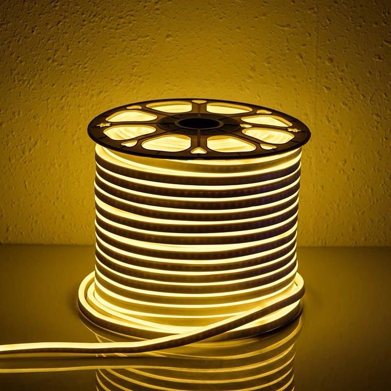 """Светодиодная лента 24В """"Dream light"""" гибкий неон IP68 теплая"""